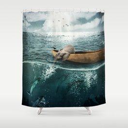 One summer day... Shower Curtain