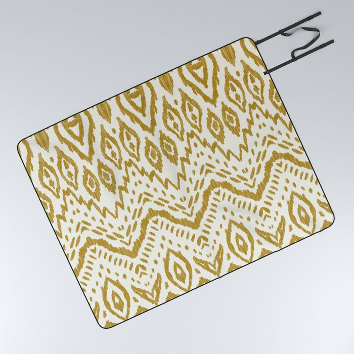 Bohemian tribal Picnic Blanket