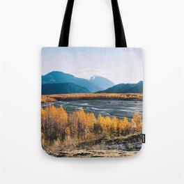 Alaskan Autumn - Kenai Fjords National Park Tote Bag