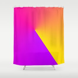 Abstract Summer Impression Shower Curtain