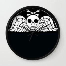 Death's Head Wall Clock