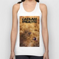 book cover Tank Tops featuring Cathair Apocalypse Book 1 Cover by Cathair Apocalypse