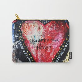 Look After Your Heart Carry-All Pouch