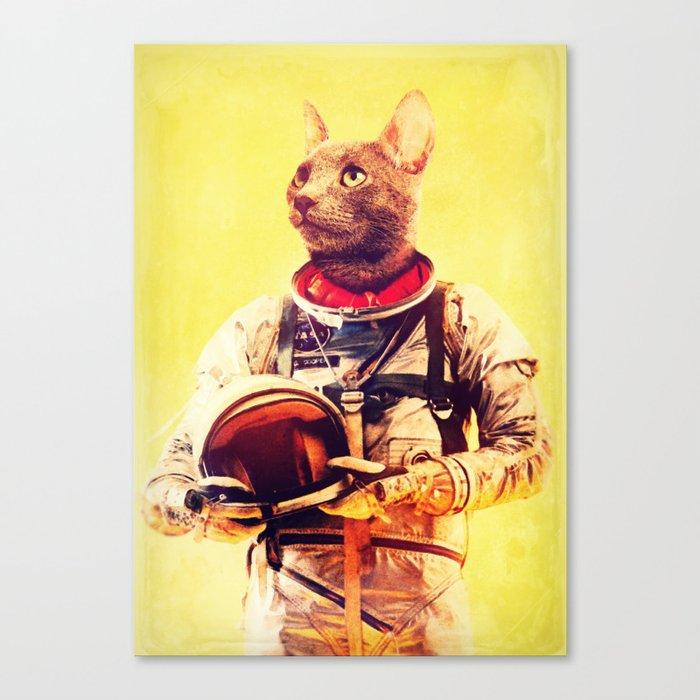 Captain Cat Canvas Print
