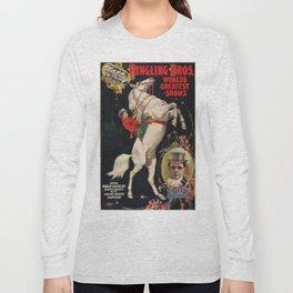 Vintage poster - Circus Long Sleeve T-shirt
