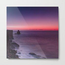 Ombre Sunset Metal Print