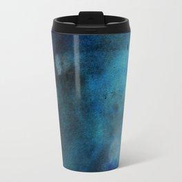 Abstract blue color Travel Mug