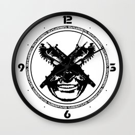 Liquid Republic Wall Clock