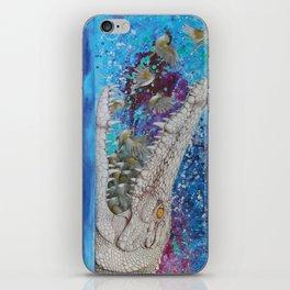Albino Crocodile iPhone Skin