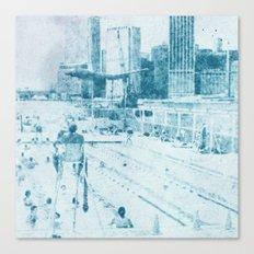 swimmingpool 1 Canvas Print