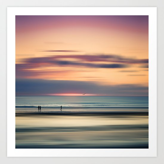 Oceanside Serenity Art Print