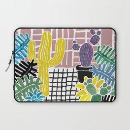 Cacti & Succulent Greenhouse Laptop Sleeve