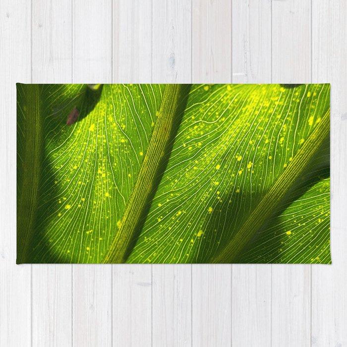 Spotted Leaf Rug