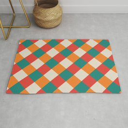 Geometric Abstract Pattern Rug