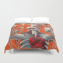 Anatomy of Lust Duvet Cover