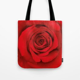 Lovely Red Rose Tote Bag