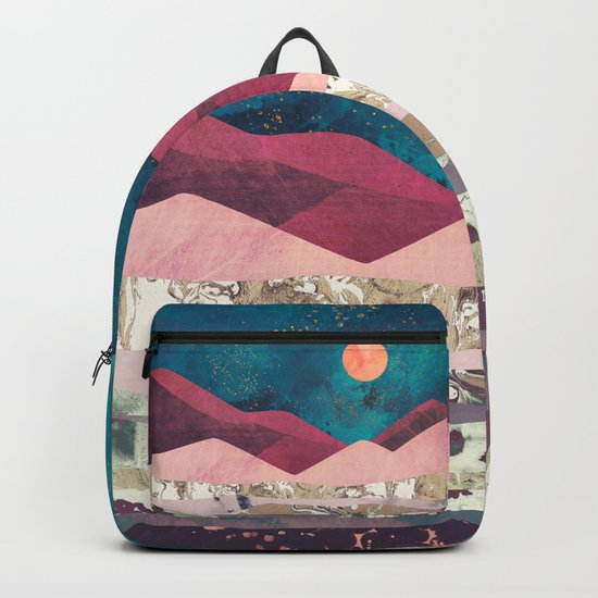 Magenta Mountain Backpack