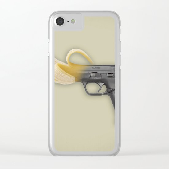 Banana Rebublic Clear iPhone Case