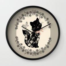 SophistiCat Wall Clock