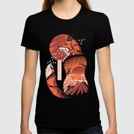 Japanese fox T-shirt