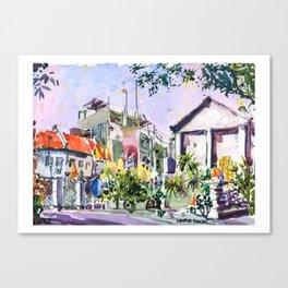 20160410 Sketchwalk Banglampu Bangkok Canvas Print