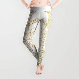 Nefertiti Mandala – Egypt Leggings