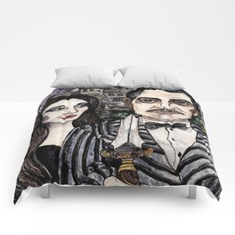 Addams Family Gothic Comforters