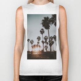 palm trees vi / venice beach, california Biker Tank
