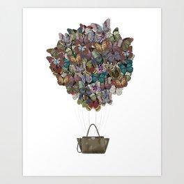 Valentino Butterfly Bag Art Print