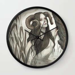 The Witch of the Mire Wall Clock