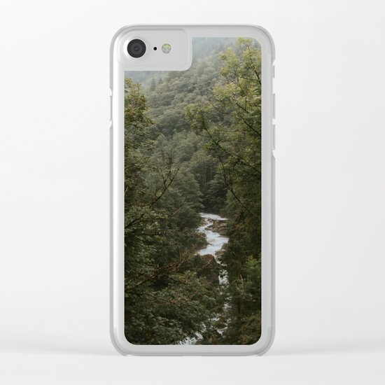 Forest Valley River - Landscape Photography Clear iPhone Case