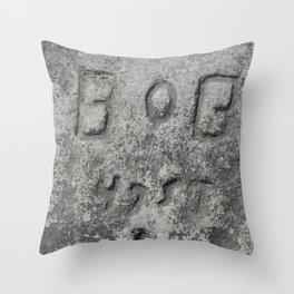 Bob - 47 St Throw Pillow