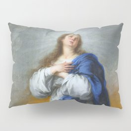"""Bartolomé Murillo """"The Immaculate Conception"""" Pillow Sham"""