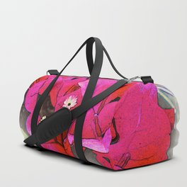 Bougainvillea Flowers Duffle Bag