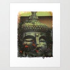 Adventurer's Club image transfer Art Print