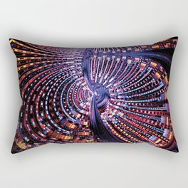 Fractal City Rectangular Pillow