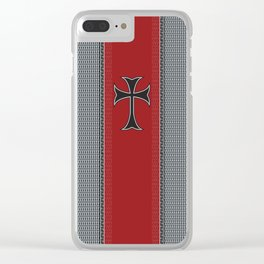 Medieval Clear iPhone Case