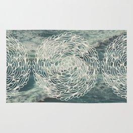 Mandala Ocean Waves Rug