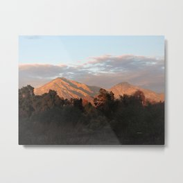 Near Sunset Metal Print