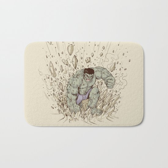 Hulk Smash Bath Mat