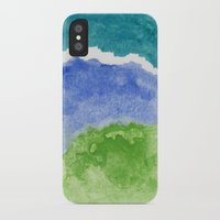 salt water iPhone & iPod Cases featuring Salt Water by Beth Thompson