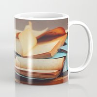 books Mugs featuring Books by Nina's clicks