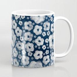 Mood indigo ditsy floral Coffee Mug