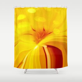 Ionian Sunrise Shower Curtain