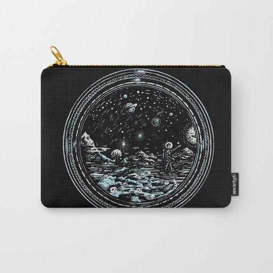 Miniature Circle Landscape 2: Astronausea.. Carry-All Pouch