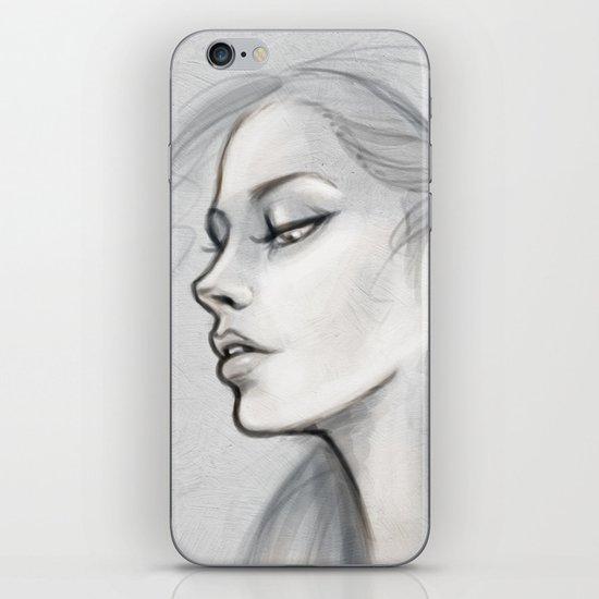 Breathe iPhone & iPod Skin