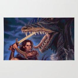 Death of a Sea Dragon Rug