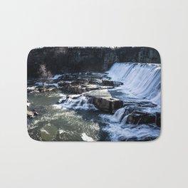 Upstate New York Waterfall Bath Mat