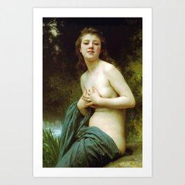 Adolphe William Bouguereau  -  La Brie Du Printemps Art Print