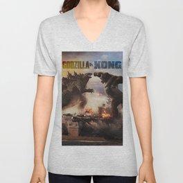 Godzilla vs Kong Unisex V-Neck